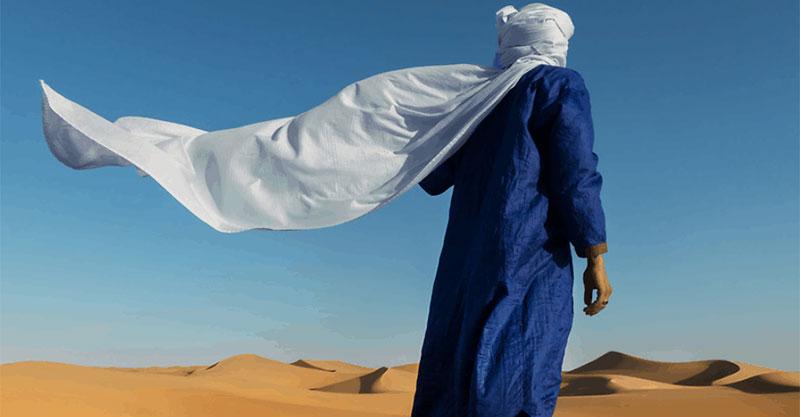Abaya hombre